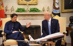 इमरान ने उठाया कश्मीर का मसला, ट्रंप ने मध्यस्थता करने की जताई इच्छा