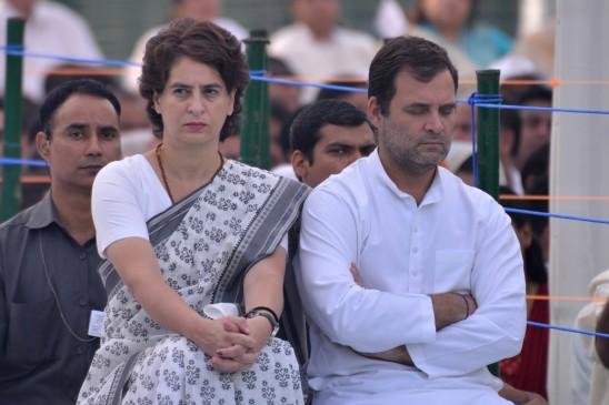 प्रियंका को अध्यक्ष बनाने की मांग जोर पकड़ी, राहुल खिलाफ