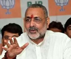 राहुल- कांग्रेस इमरान के चीयरलीडर की तरह बर्ताव करते हैं: गिरिराज