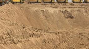 हाईफाई डिवाइस से हो रहा था रेत का उत्खनन, राजस्व अमले ने देर रात की बड़ी कार्यवाही