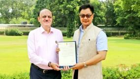 सेमी में पहुंचने पर रिजिजू ने भारतीय टीम को दी बधाई, कहा -उम्मीद है विश्व कप घर आएगा