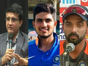 गिल-रहाणे को वनडे टीम में नहीं चुने जाने पर हैरान हूं: सौरव गांगुली