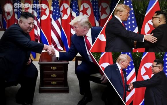 किम जोंग से मिले डोनाल्ड ट्रंप, उत्तर कोरिया पहुंचने वाले पहले अमेरिकी राष्ट्रपति