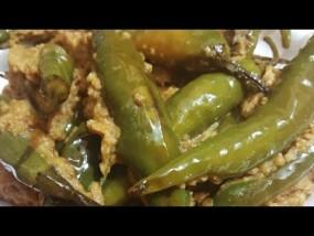 वीडियो रेसिपी: दही वाली हरी मिर्च, स्पाइसी रेसिपी
