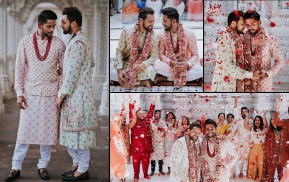 Viral : भारतीय युवकों ने अमेरिका में की शादी, नॉर्मल कपल की तरह कराया प्री वेडिंग फोटोशूट