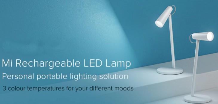 Xiaomi ने भारत में लॉन्च किए Rechargeable LED Lamp