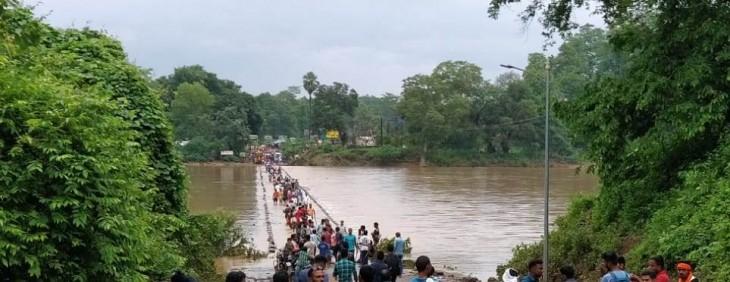 बारिश में फिर टूटा भामरागढ़ का संपर्क, बारिश में बदहाल हुई स्थिति