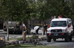 काबुल बम धमाके में 2 पुलिसकर्मियों की मौत
