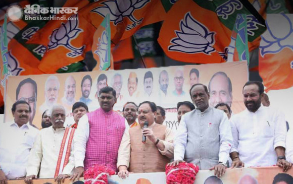 तेलंगाना में TDP को बड़ा झटका, 60 बड़े नेताओं ने थामा BJP का दामन