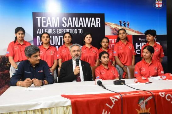माउंट किलिमंजारो पर चढ़ाई करेंगी 7 भारतीय लड़कियां