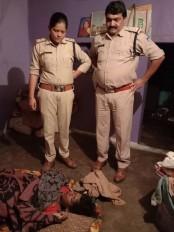 पति ने की पत्नी की हत्या - शराब पीने के ऊपर से हुआ विवाद , आरोपी गिरफ्तार
