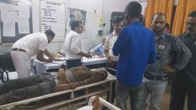 करंट की चपेट में आने से मजदूर की मौत, तीन अन्य चपेट में आए ,दो की हालत गंभीर