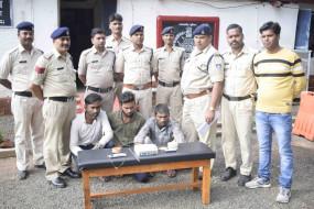नागपुर का चोर गिरोह छिंदवाड़ा में देते थे चोरी की वारदात को अंजाम, आरोपी गिरफ्तार