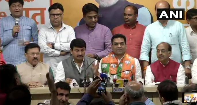 दिल्ली: केजरीवाल सरकार में मंत्री रहे कपिल मिश्रा बीजेपी में शामिल