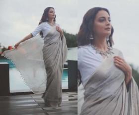 दीया मिर्जा ने शेयर की खूबसूरत फोटो, साथ ही लिखा प्यारा सा मैसेज