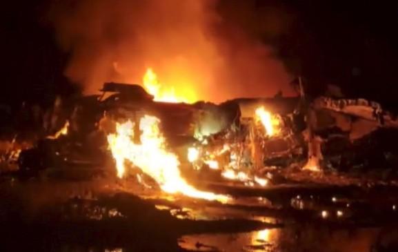 असम: तेजपुर में IAF का सुखोई विमान दुर्घटनाग्रस्त, दोनों पायलट सुरक्षित