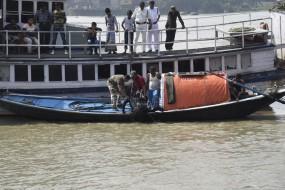 पश्चिम बंगाल: हुगली नदी में पलटी नाव, 6 लोगों में से तीन लापता