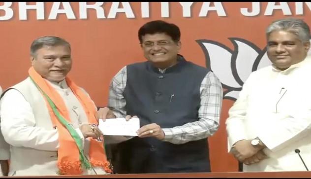कांग्रेस नेताभुवनेश्वर कलिता बीजेपी में शामिल, 370 पर पार्टी के रुख से थे नाराज