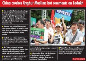 चीन ने उइगर मुस्लिमों का दमन किया, अब लद्दाख पर बयान दे रहा