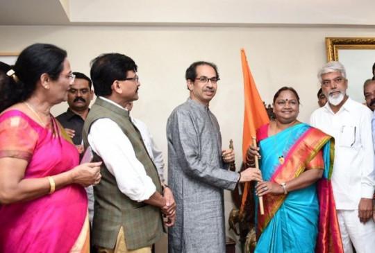 कांग्रेस विधायक गावित शिवसेना में शामिल, राकांपा की रश्मी बागल भी बनीं शिवसैनिक