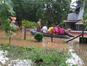 भारी बारिश से केरल में मरने वालों की संख्या 23 हुई