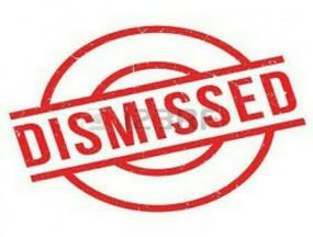 तीन माह का वेतन देकर, सीजीएसटी के दो अधीक्षकों की सेवाएं समाप्त