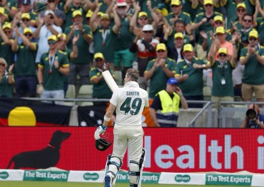 आईसीसी टेस्ट रैंकिंग : लगातार 2 शतकों के बाद स्मिथ तीसरे नंबर पर पहुंचे