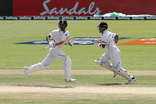IND VS WI 2nd test: भारत ने वेस्टइंडीज के खिलाफ बनाई 260 रनों की बढ़त, कोहली-रहाणे ने जड़े अर्धशतक