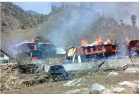 Fake News: क्या भारतीय सेना ने कश्मीर में घर जलाएं ?