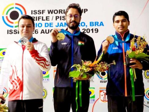 ISSF World Cup: अभिषेक ने 10 मीटर एयर पिस्टल इवेंट में गोल्ड पर निशाना साधा, सौरभ ने ब्रॉन्ज मेडल जीता