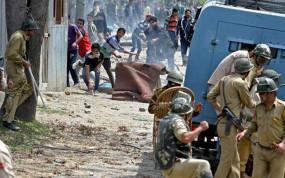 जम्मू-कश्मीर: सुरक्षा वाहन समझकर लोगों नेकी पत्थरबाजी,ट्रक चालक की मौत