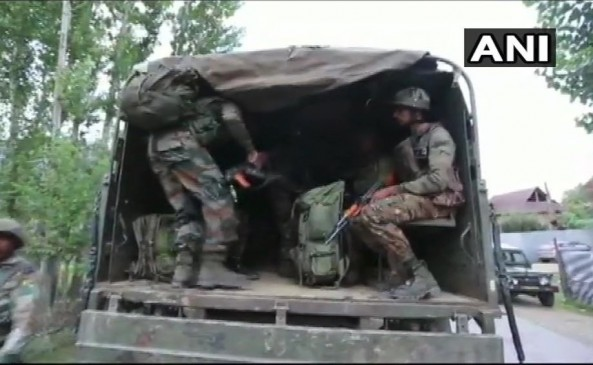 जम्मू-कश्मीर के सोपोर में मुठभेड़, एक आतंकी ढेर, एक जवान घायल