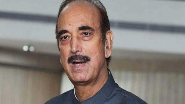 कश्मीर पहुंचे कांग्रेस नेता गुलाम नबी आजाद को एयरपोर्ट से वापस भेजा गया