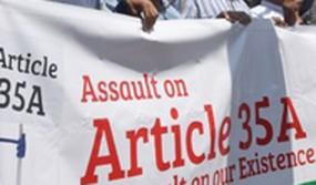 जानिए क्या है आर्टिकल 370 और 35A, जम्मू-कश्मीर में इस पर बवाल क्यों
