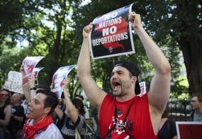 अमेरिका में आव्रजन नीति के खिलाफ महीना लंबा विरोध प्रदर्शन शुरू