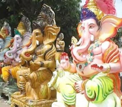 पीओपी मूर्तियां बेचने वालों के खिलाफ मनपा सख्त, वसूला सवा लाख जुर्माना