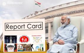 PM मोदी ने दिया 75 दिनों का रिपोर्ट कार्ड, चंद्रयान से लेकर ट्रिपल तलाक पर की बात