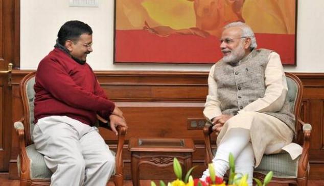मोदी ने केजरीवाल को दी जन्मदिन की बधाई, जवाब मिला- थैंक्यू PM सर