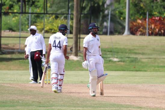 अभ्यास मैच : भारत ने दूसरी पारी में वेस्टइंडीज पर बनाई 200 रन की बढ़त