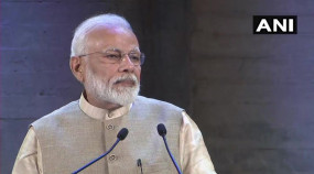 पेरिस में बोले PM मोदी- नए भारत में 3 तलाक, भ्रष्टाचार और परिवारवाद की जगह नहीं