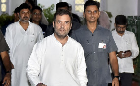 राहुल गांधी आज पहुंचेंगे जम्मू-कश्मीर, विपक्ष के 9 नेता भी रहेंगे साथ