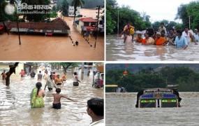 आसमान से बरस रही आफत: केरल में 42, मुंबई में 30 और कर्नाटक में 24 मौत, 2 लाख से अधिक हुए बेघर
