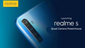 Realme 5 और Realme 5 Pro भारत में 20 अगस्त को होंगे लॉन्च, जानें खूबियां