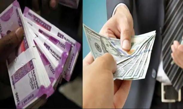 नौ महीने के निचले स्तर पर रुपया, डॉलर के मुकाबले 72 के पार हुई 1 रुपए की कीमत