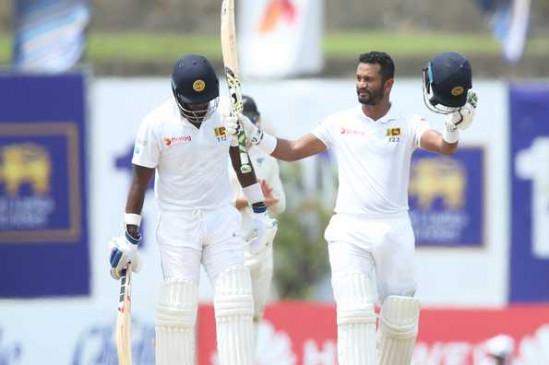 SL VS NZ 1st test : श्रीलंका ने न्यूजीलैंड को 6 विकेट से हराया, करुणारत्ने ने जड़ा शतक