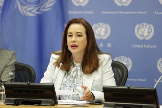 संयुक्त राष्ट्र महासभा की अध्यक्ष ने कहा-असाधारण महिला और नेता थीं सुषमा