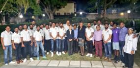 टीम इंडिया ने जमैका में उच्चायुक्त के साथ किया डिनर, BCCI ने ट्विटर पर शेयर की तस्वीर