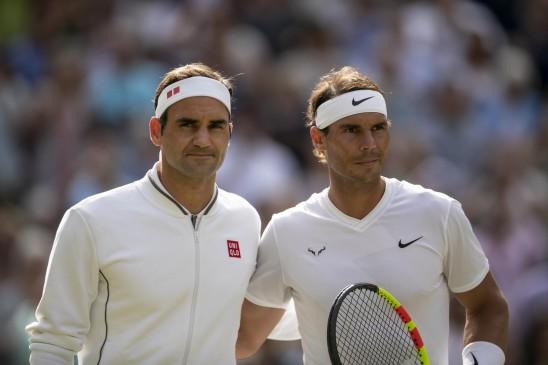 टेनिस : फेडरर से आगे निकले राफेल नडाल