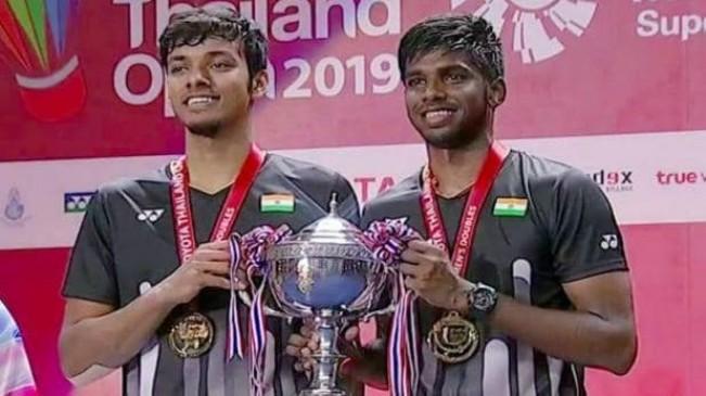 Thailand open: रैंकीरेड्डी-चिराग ने रचा इतिहास, भारत को पहली बार सुपर 500 टूर्नामेंट का खिताब जीताया