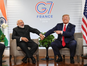 G-7: ट्रंप ने किया ऐसा मजाक, देर तक ठहाके लगाते रहे मोदी